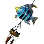 Sino Dos Ventos Relaxamento Forma de Peixe Azul (SIN-7)