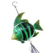 Sino Dos Ventos Relaxamento Forma De Peixe Verde (SIN-7)