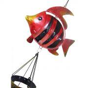 Sino Dos Ventos Relaxamento Forma De Peixe Vermelho (SIN-7)