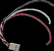 Conector fêmea com fio P3x2,5mm