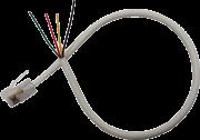 Plug RJ11 com fio