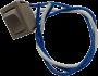 Interruptor Paralelo 16101 - bege c/ fio