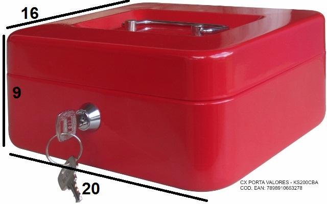 Caixa Porta Valor KS200