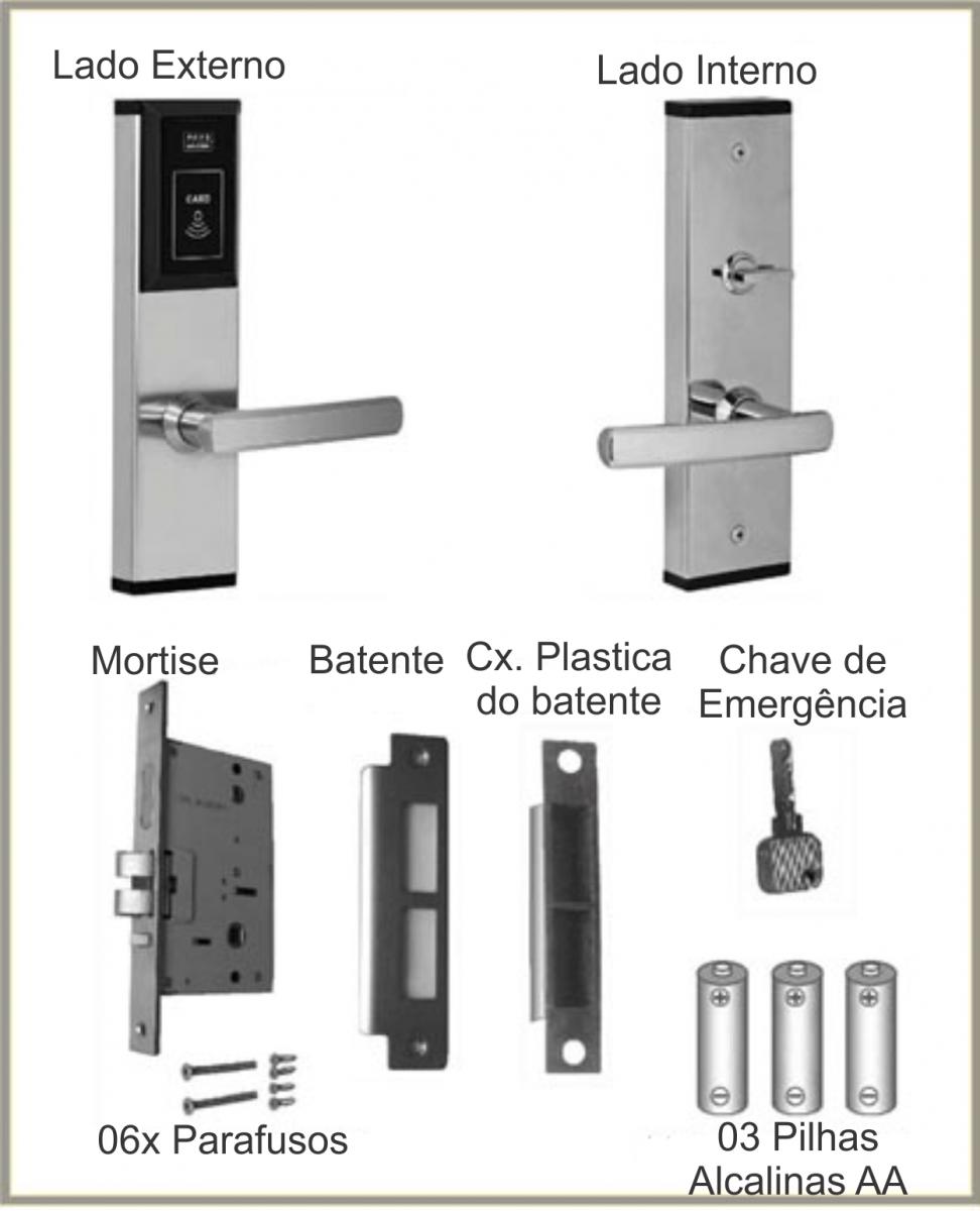 Fechadura Eletrônica SY853