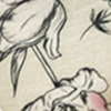Floral pérola tattoo