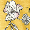 Amarelo floral tattoo