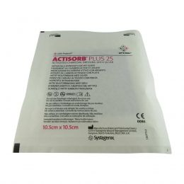 Actisorb Plus 25 10,5 x 10,5cm Systagenix