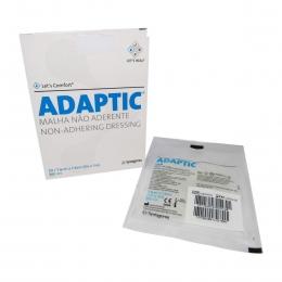 Adaptic 7,6 x 7,6cm Curativo Malha Não Aderente Kit 10un