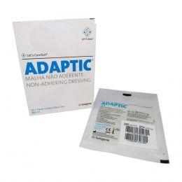 Curativo Adaptic 7,6x7,6cm não Aderente Systagenix
