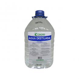 Água Destilada Galão 5 Litros Cinord