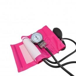 Aparelho de Pressão Velcro Nylon - Adulto Rosa Incoterm