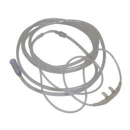 Cateter Nasal Adulto tipo Óculos de Silicone 2,10m