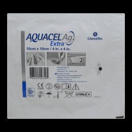 Curativo Aquacel Ag Extra 10x10cm Convatec
