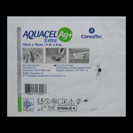 Curativo Aquacel Ag Mais Extra 10x10cm Convatec