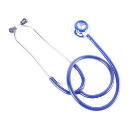 Estetoscópio Adulto Duplo Azul BIC