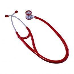 Estetoscópio Cardiológico Vermelho Advantive