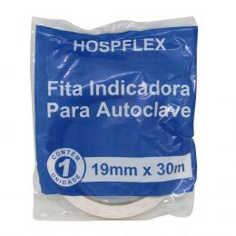 Fita Indicadora para Autoclave 19mm x 30m Hospflex