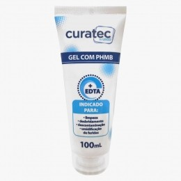 Gel de Limpeza com PHMB 100ml Curatec