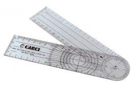 Goniômetro Grande 20cm PVC Carci