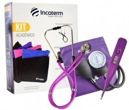 Kit Acadêmico Lilás com Bolsa Incoterm