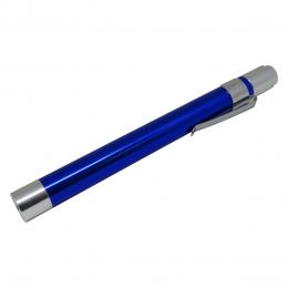 Lanterna Clínica LED de Bolso em Alumínio Azul AK