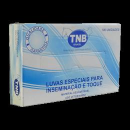 Luvas Especiais para Inseminação e Toque G 100un TNB