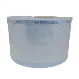 Papel Grau Cirúrgico Esterilização Bobina Hospflex 10cm x 100m Kit 2 un
