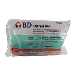 Seringa Insulina Ultra Fine 100UI 12,7x0,33mm BD 10un