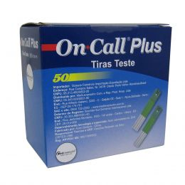 Tira para Controle de Glicemia cx 50un On Call Plus