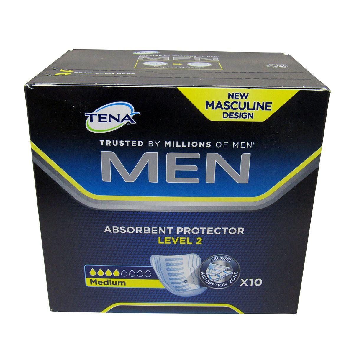 Absorvente Incontinência Men Level 2 com 10un