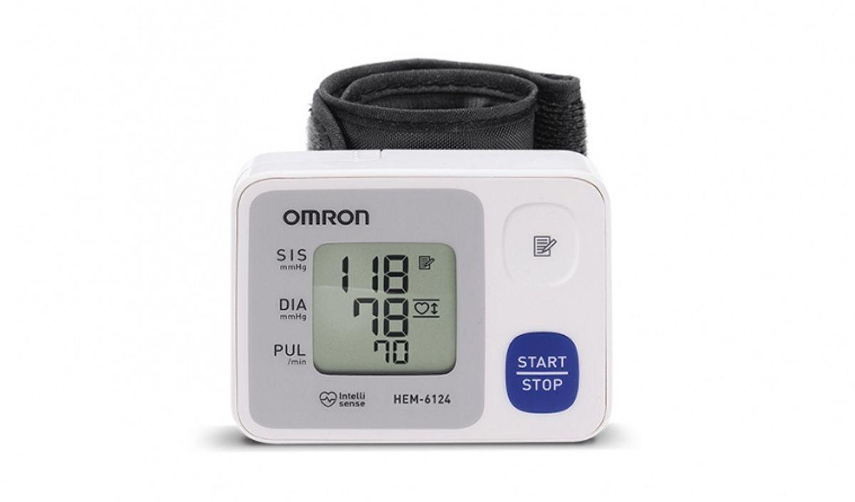 Aparelho Digital de Pressão Pulso Automático Omron