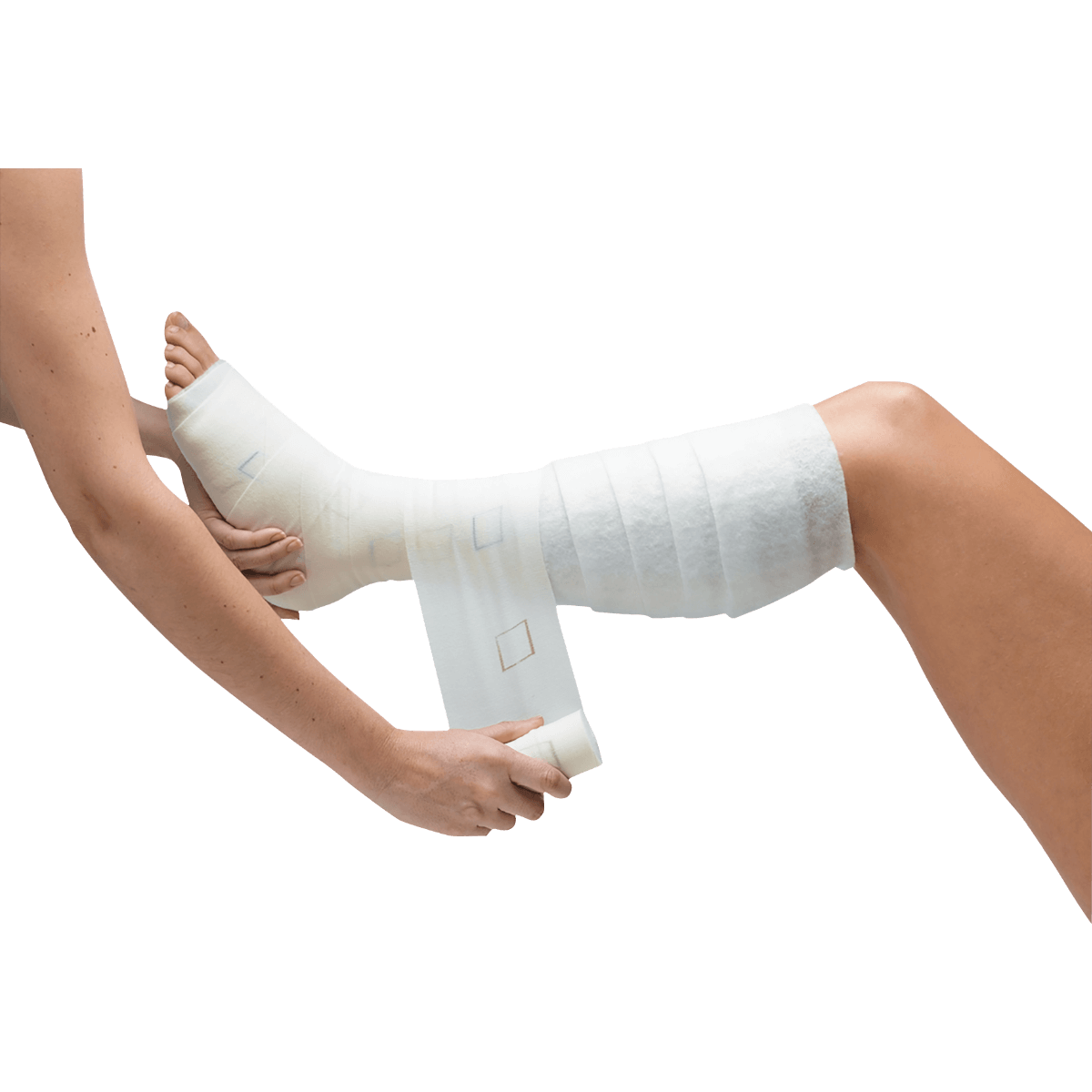 Bandagem Elástica Compressão 10cmx3,5m Setopress