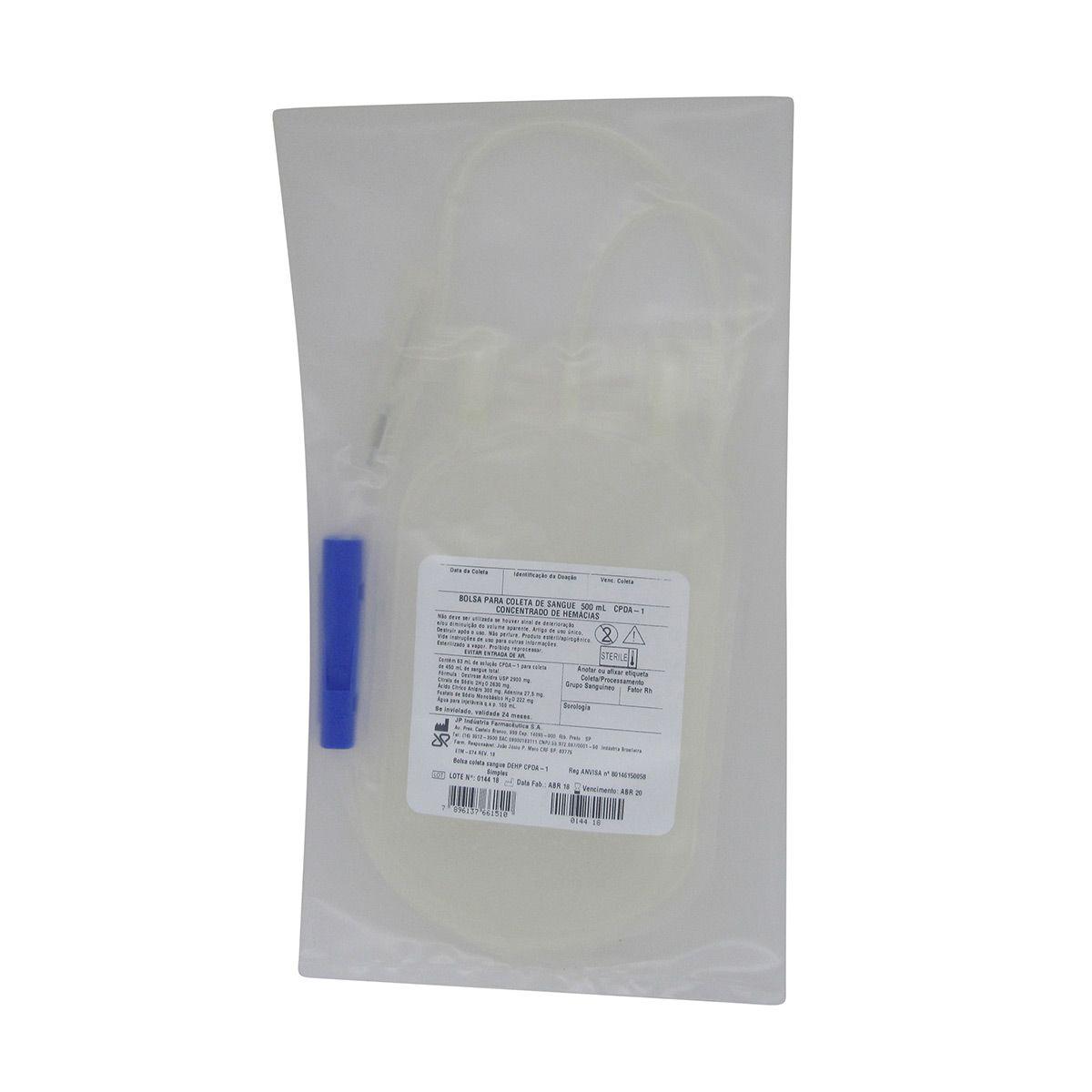 Bolsa para Transfusão de Sangue Kit c/ 5un Jp