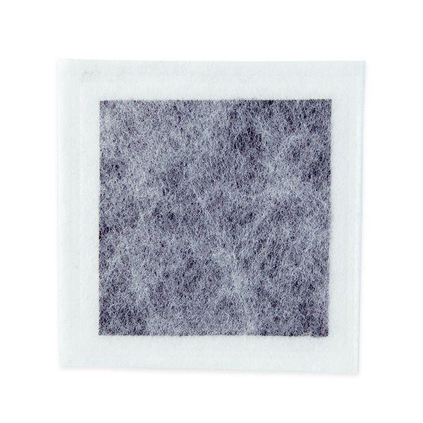 Curativo de Carvão Ativado e Prata 10,5x10,5cm Casex 10un