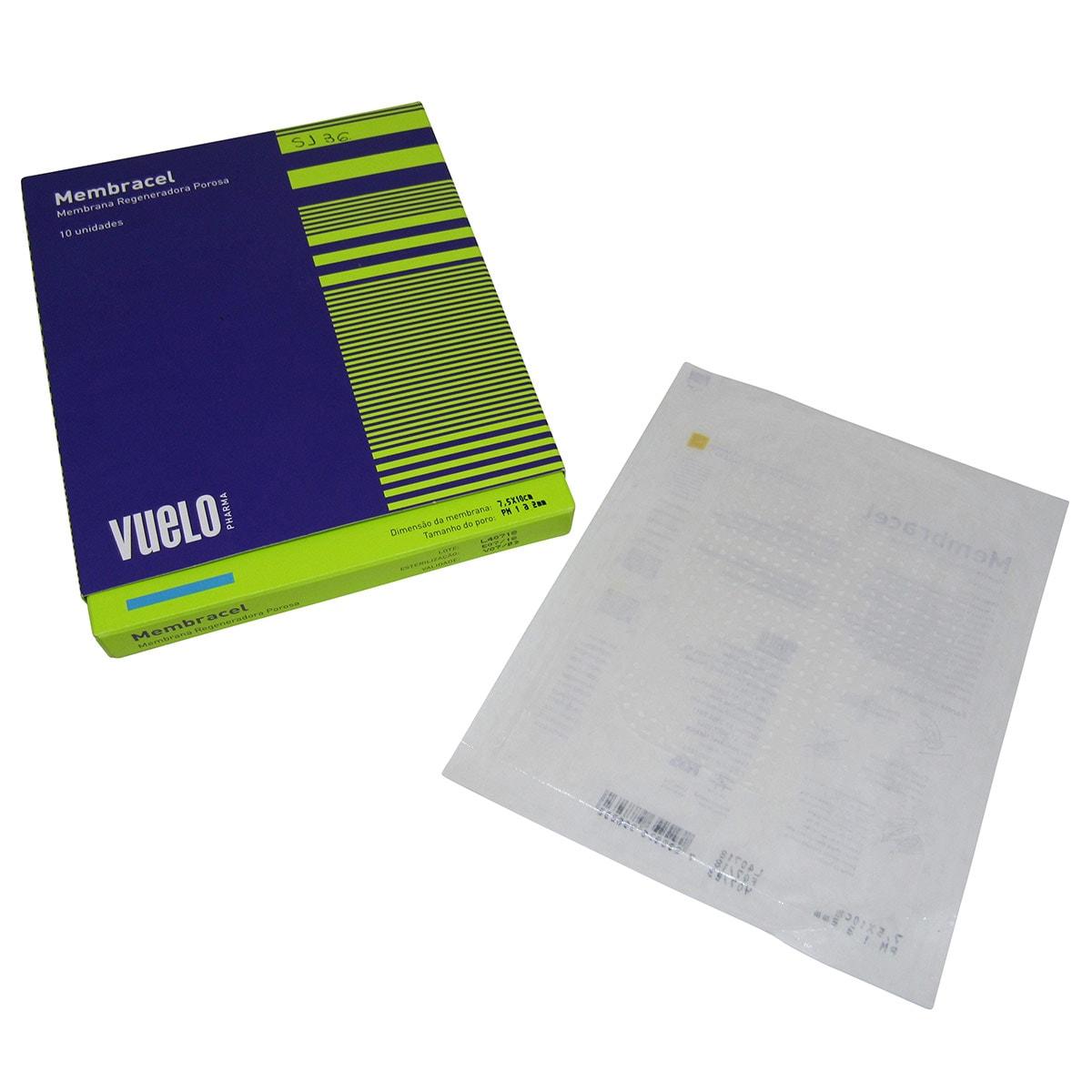 Curativo Membracel Membrana Regeneradora 5x7,5cm 4un