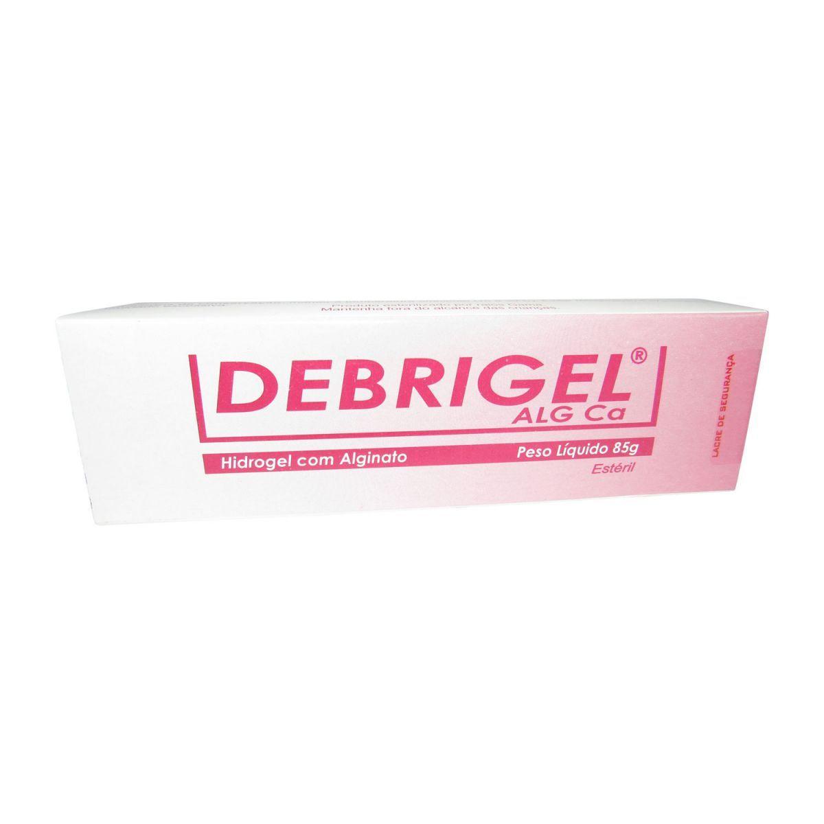 Debrigel Hidrogel e Alginato de Cálcio 85g Helianto