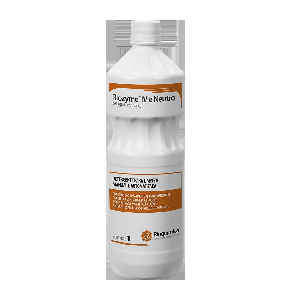 Detergente Enzimático Riozyme IV Neutro 1L Rioquímica