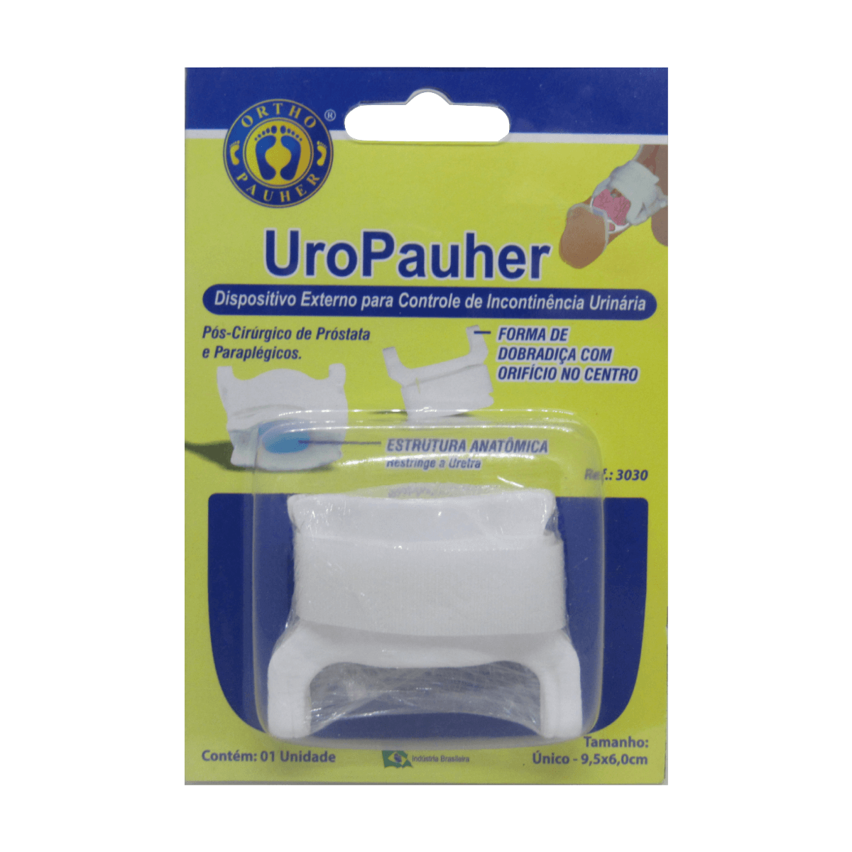 Dispositivo Incontinência Urinária Tam Único UroPauher