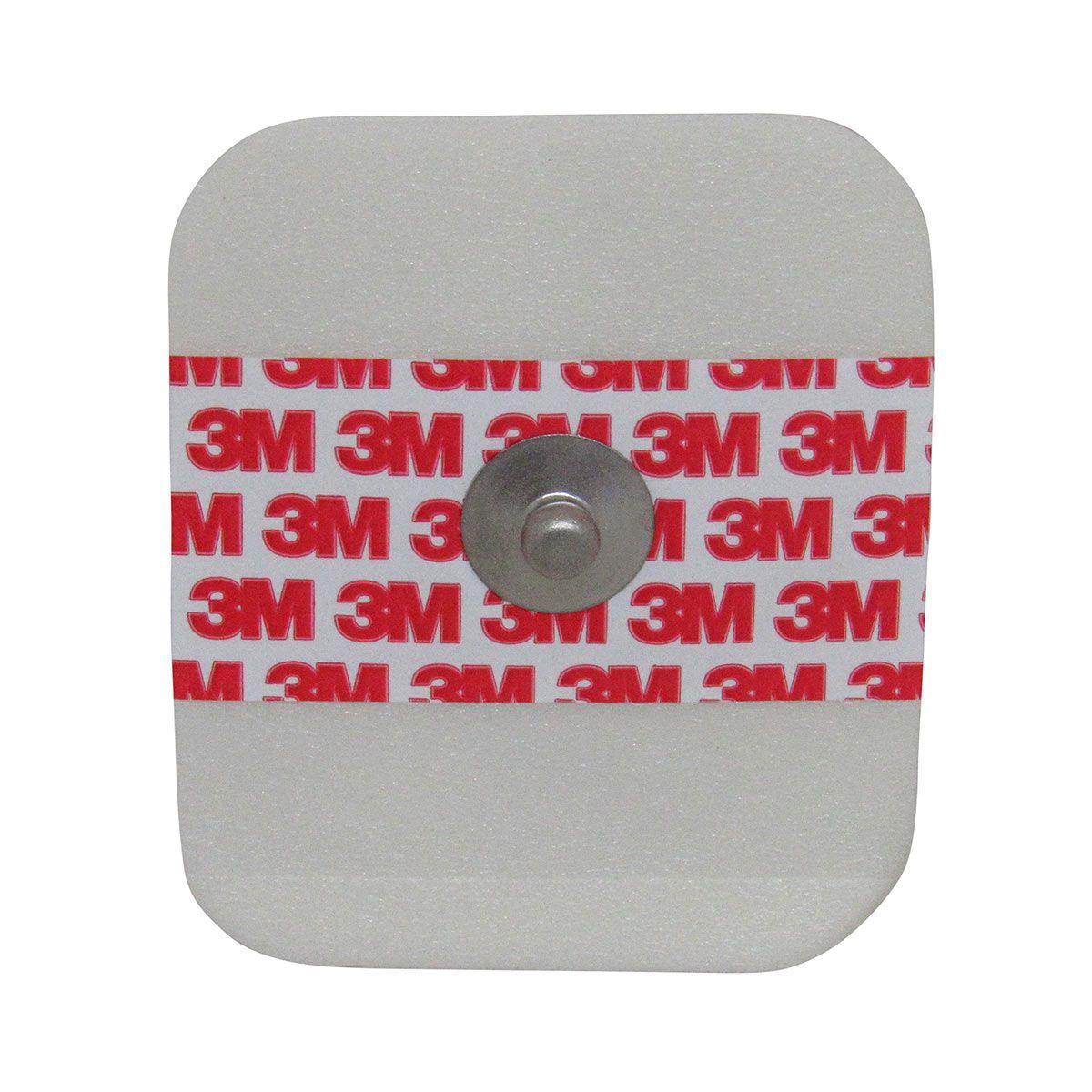 Eletrodo Monitoração Cardíaca Adulto 50un 3M Kit 6 pacotes