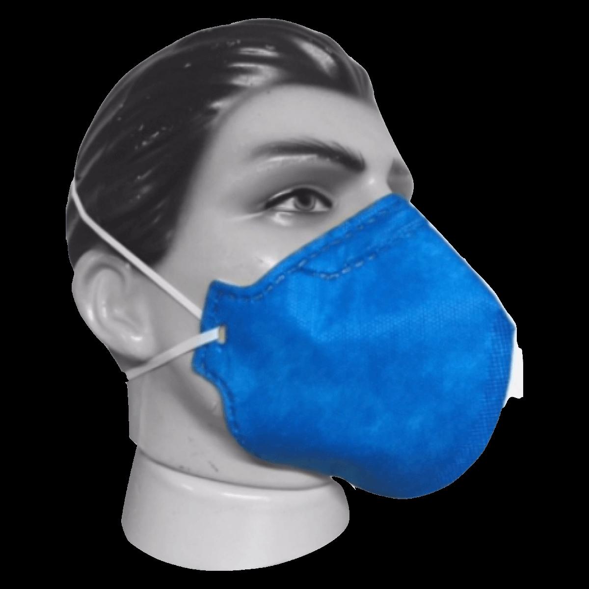 Máscara Para Proteção PFF2 sem Válvula Grazia Kit 20un
