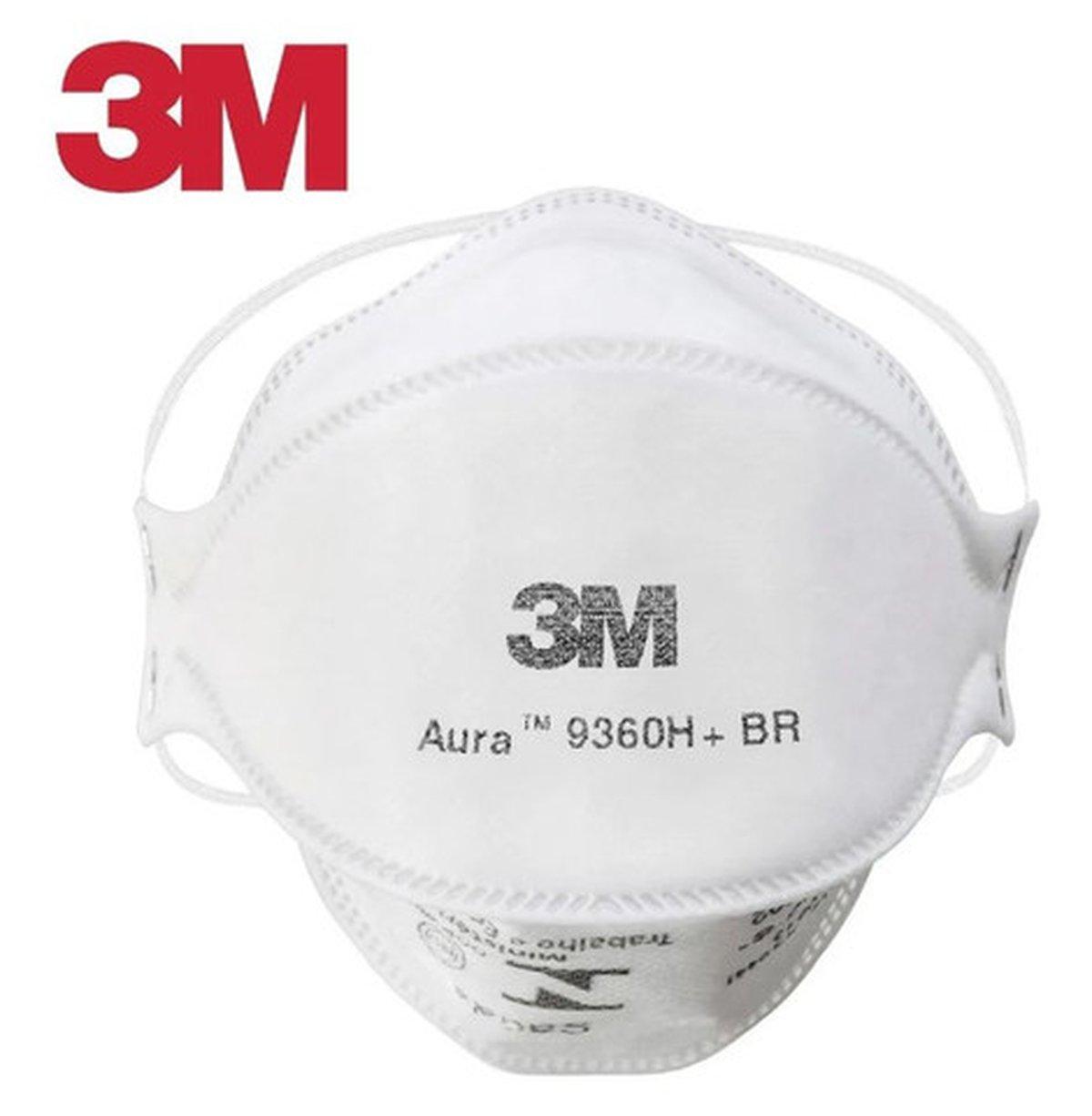 Máscara Proteção Aura Risco Biológico Pff2S 3M Kit 10un