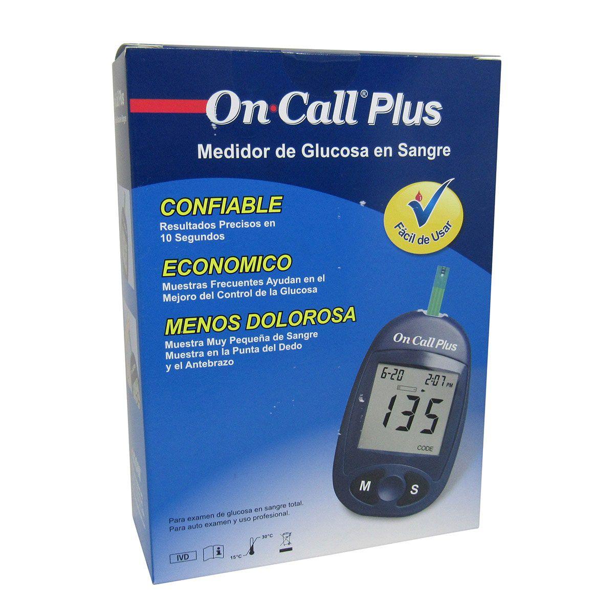 Medidor de Glicose Semi Completo On call plus
