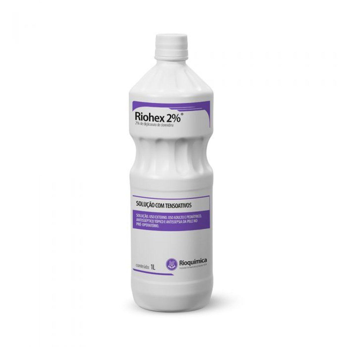 Riohex Clorexidina 2% Degermante 1000ml Rioquímica