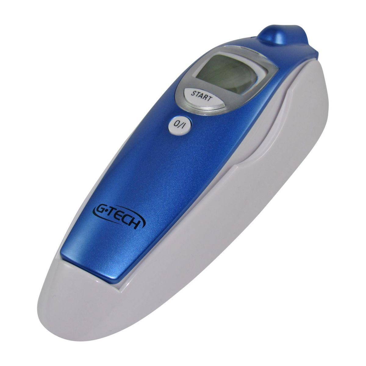Termômetro Clínico Digital Testa Sem Contato G-Tech