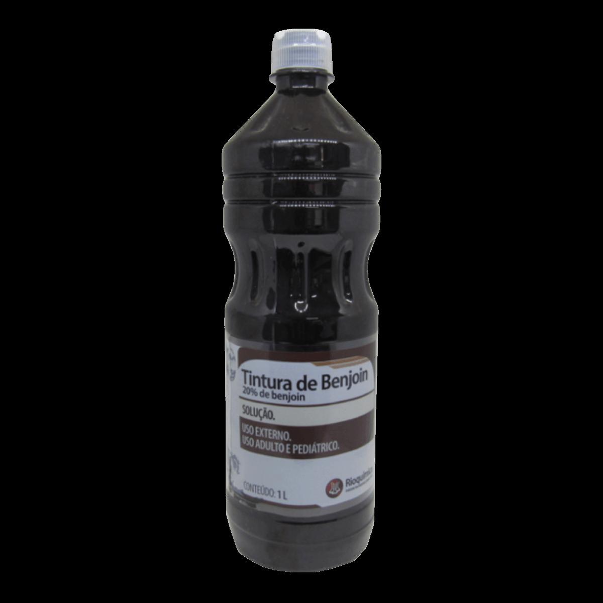 Tintura de Benjoin 20% Solução 1000ml Rioquímica
