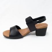 Sandália Usaflex Com Elástico Canelado Ad0901