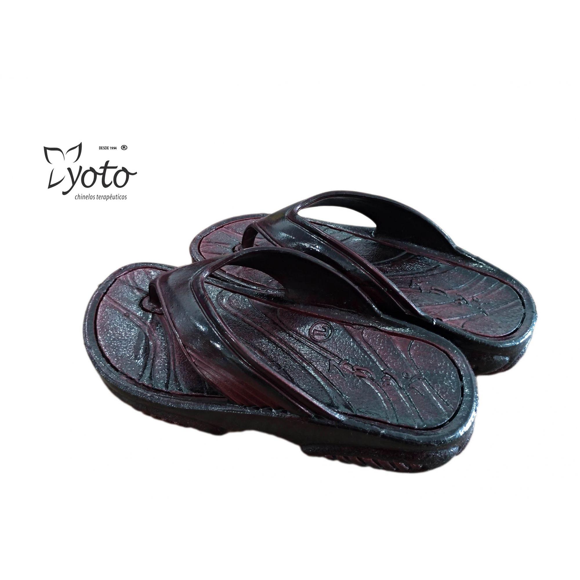 Chinelo yoto 235 Calçado Joanete Esporão Calcaneo Fascite Plantar