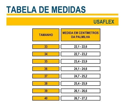 Sandália Anabela Usaflex Ad5202