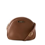 Bolsa saddle bag  marron via uno