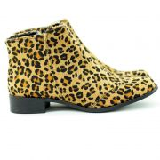 Bota Rasteira animal Print
